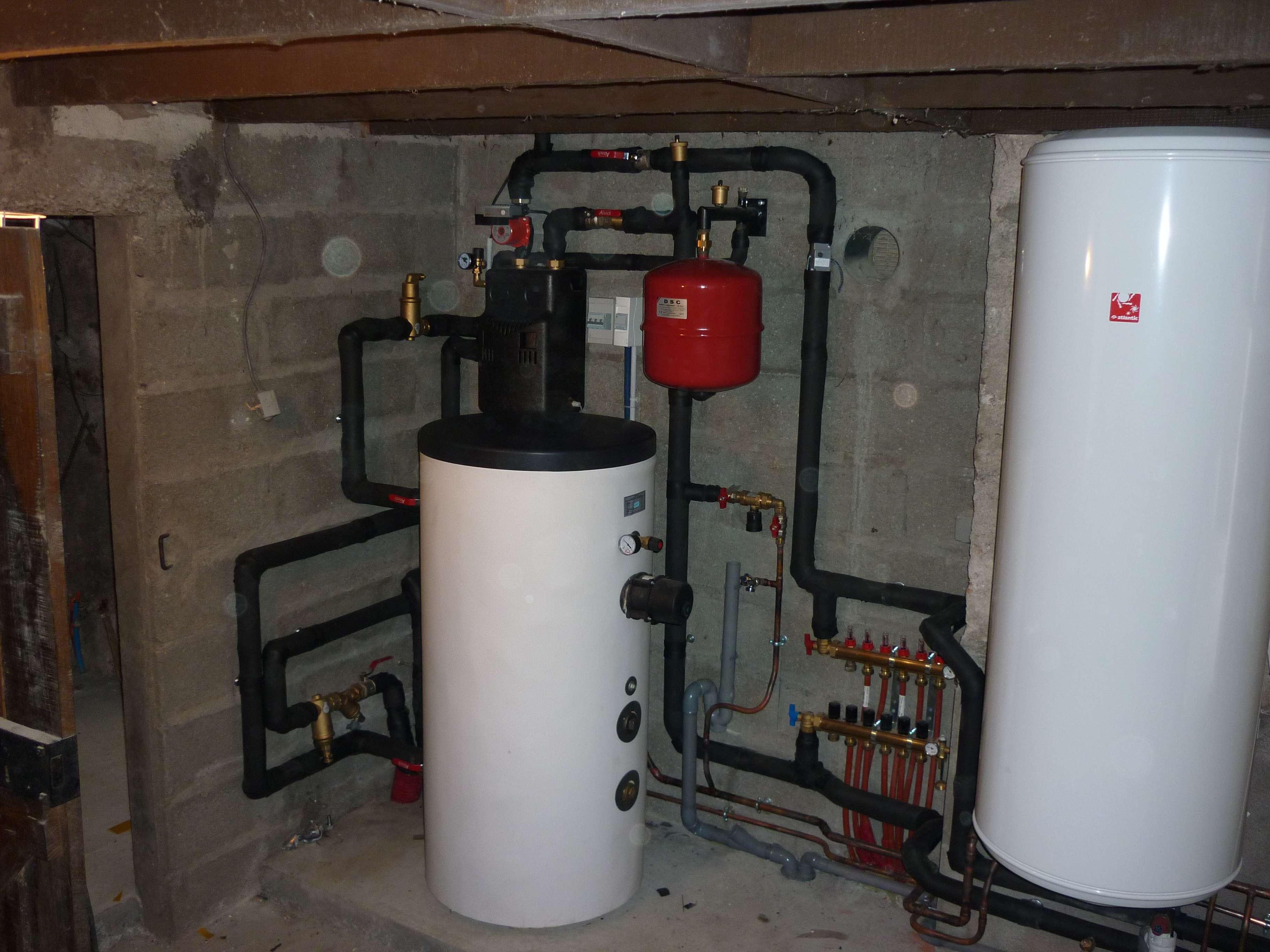 pompe à chaleur, Energies renouvelables, Plancher chauffant, La Planche