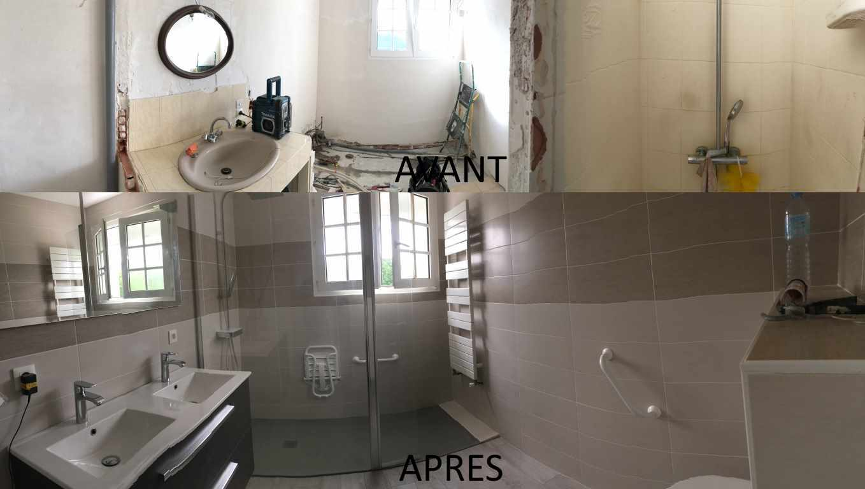 salle de bain, rénovation salle de bain, plombier chauffagiste, bpc, plomberie